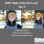 2018 Make it for Me Day 2