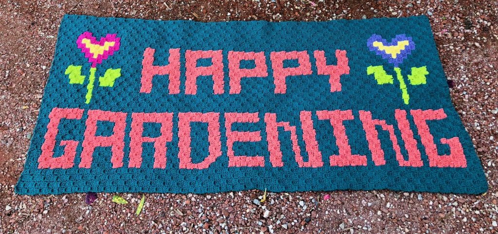 Happy Gardening Rug 2nd Image by ELK Studio