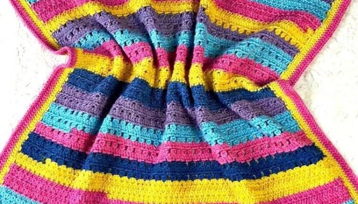 Hannah Kate's Baby Blanket Week 4