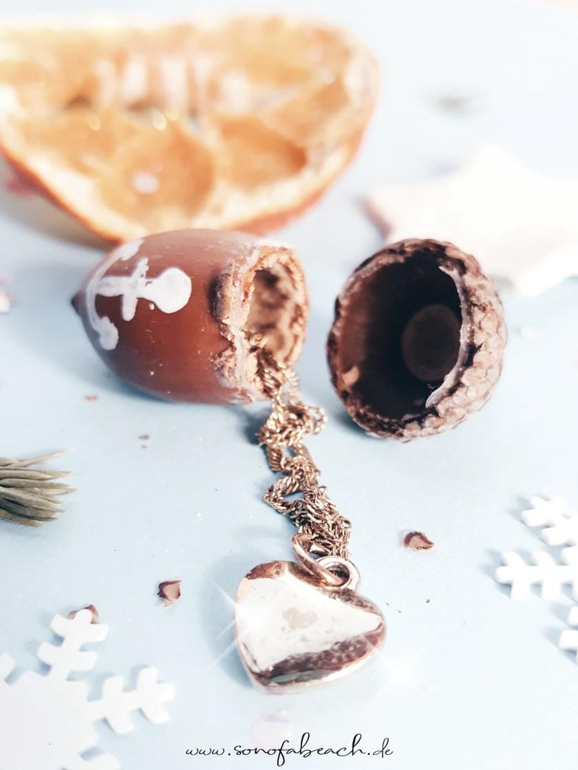 eichel geschenkverpackung nikolaus weihnachten basteln diy selbermachen