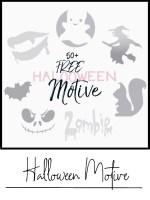 free kostenlose halloween motive diy basteln
