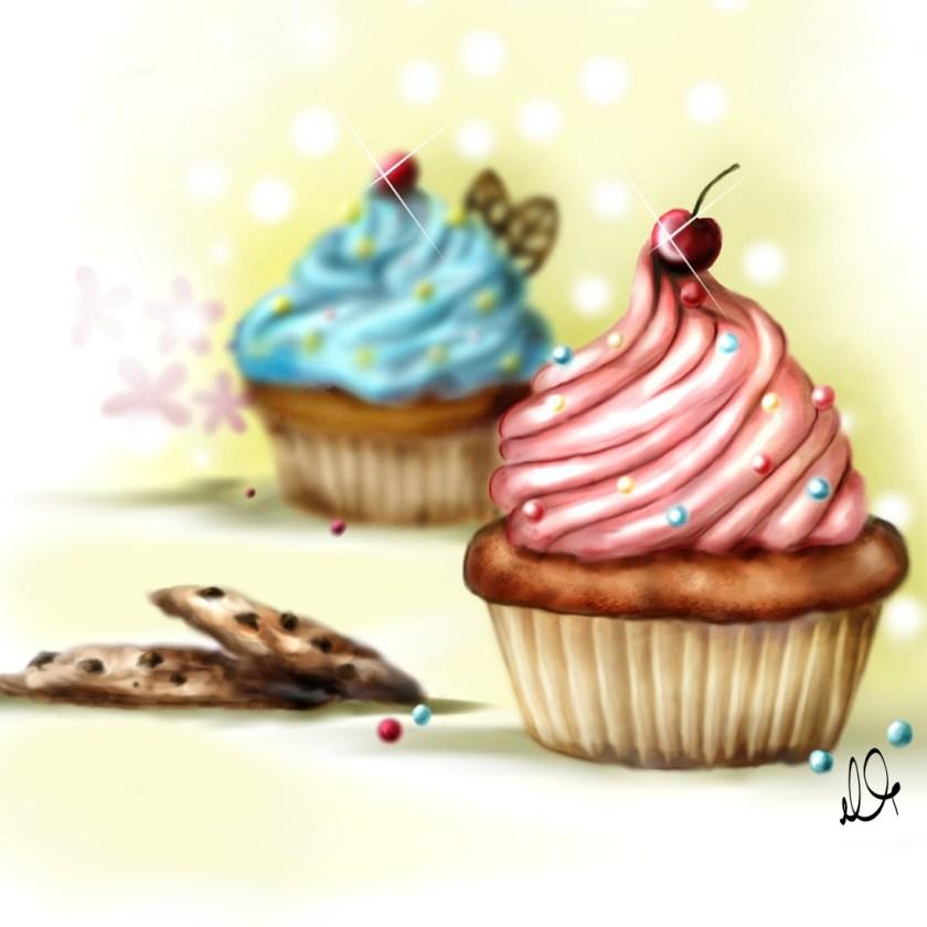 kekse illustration food essen