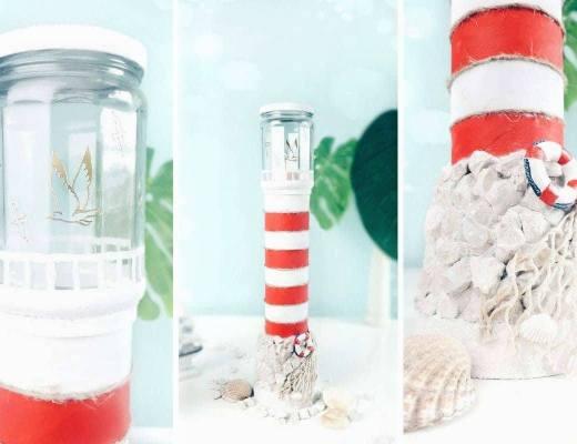 leuchtturm diy basteln selbermachen maritime deko idee bastelidee (2)