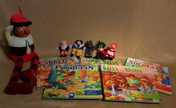 Col·leccio de contes clàssics i Pinotxo.