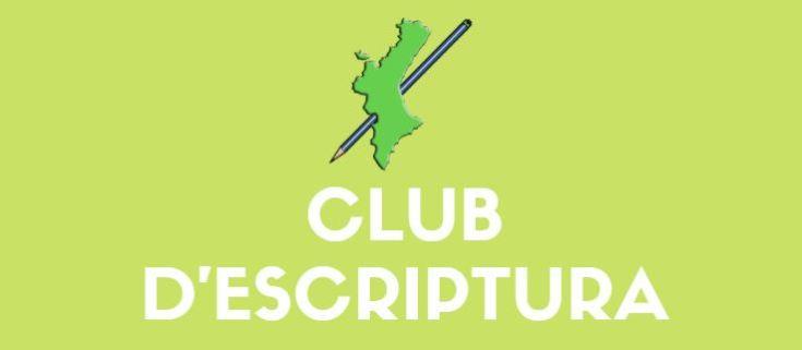 cartell club d'escriptura