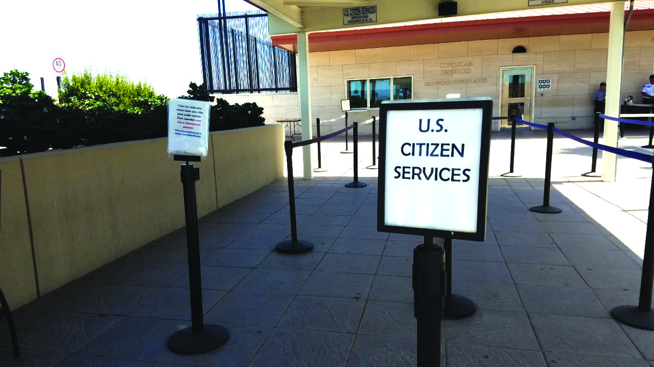 Sólo emergencias; consulado de Estados Unidos en Tijuana abierto para casos especiales | Periódico El Latino