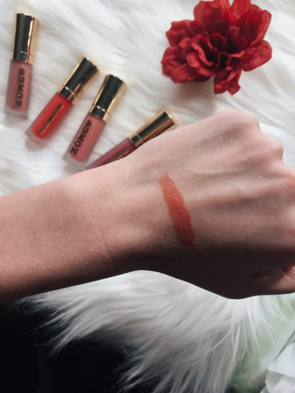 BUXOM Cosmetics lip plumping lip cream in the shade mudslide, review and swatches!