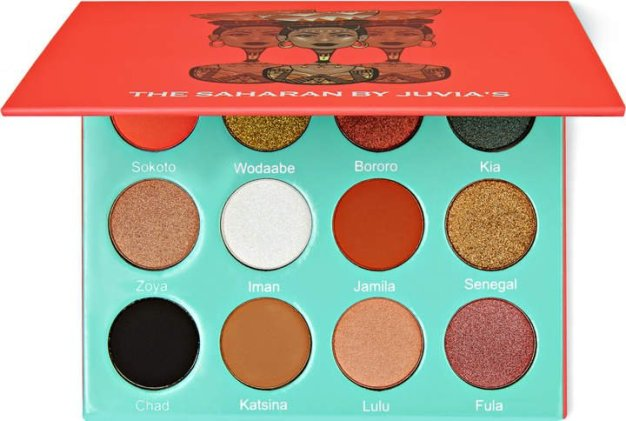 Juvia's Place Saharan eyeshadow palette - favorite eyeshadow palettes