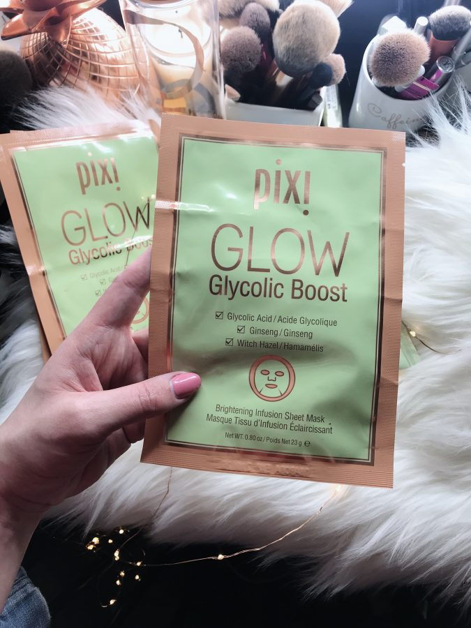Pixi Glycolic Sheet Mask review - Pixi skin treats, skin care I love.