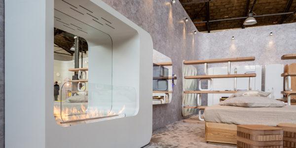 FLA3, LAMBRATE DISTRICT_Salone del Mobile (M2 Lambrate) Hotel regeneration event, designed by Simone Micheli