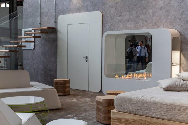 FLA3_LAMBRATE DISTRICT, Salone del Mobile (M2 Lambrate) Hotel regeneration event, designed by Simone Micheli