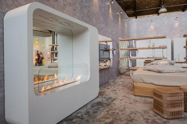 FLA3_LAMBRATE DISTRICT_Salone del Mobile (M2 Lambrate) Hotel regeneration event, designed by Simone Micheli