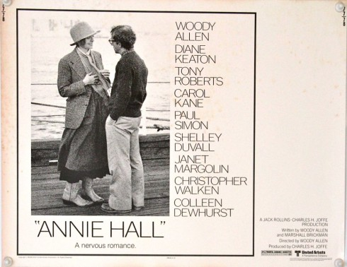 Annie Hall Original Half Sheet