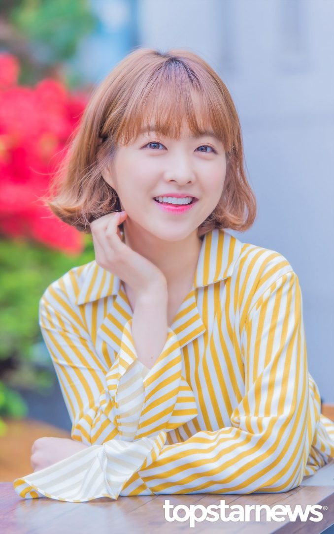 Round-face hairstyle_Park Bo Young2