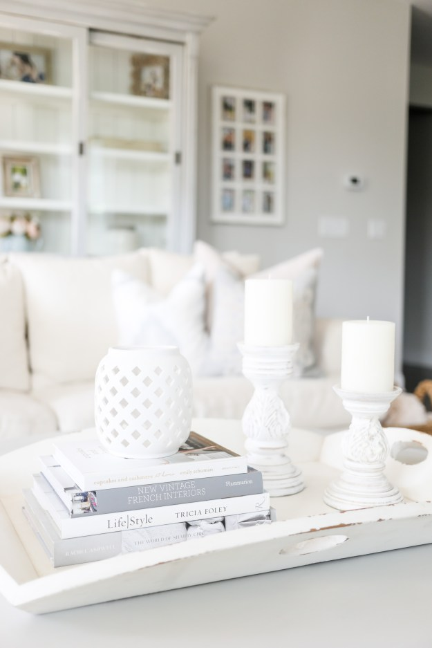 coffee table decor and tray ideas | decorating your coffee table tray