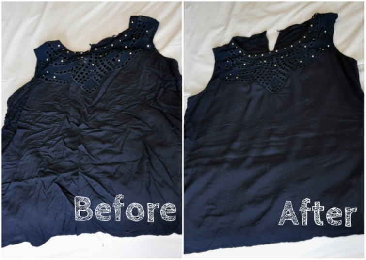 Resultado de imagen de differences between an ironed and a wrinkle dress