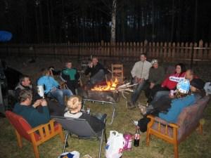 BBQ at Enden camping