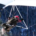 Lars taking off