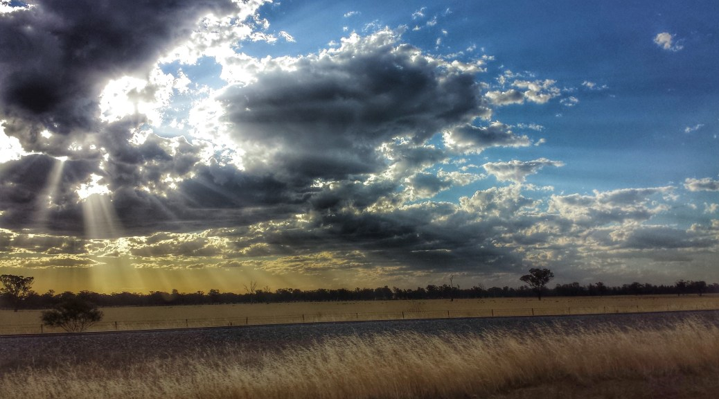 Great sky while driving home
