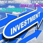 Premier investissement locatif seule et enceinte : est-ce possible ?