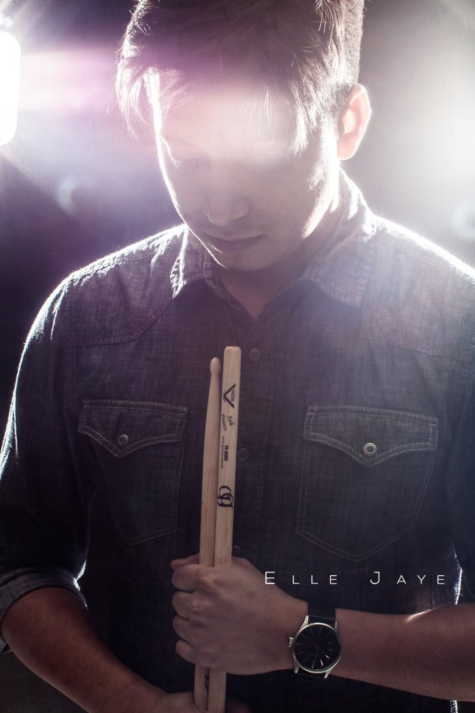 Isaias Gil with Vater Drumsticks