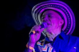 Rafael Castro Fernandez performs for the closing event of NRMAL Festival on Sunday, March 4 as the leader of Los Gaiteros de San Jacinto.