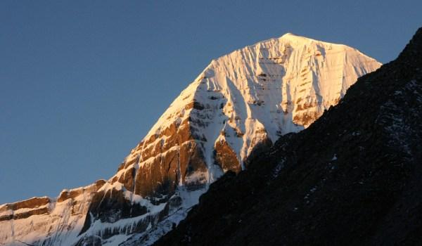 Day 2 of the kora: sunrise on Mount Kailash (2010)
