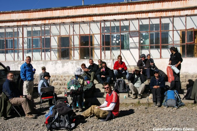 Back at the guesthouse in Darchen after walking the kora around Mount Kailash (2010)
