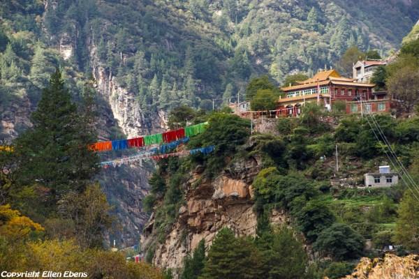 On the way to Tushe Monastery, Qianzu