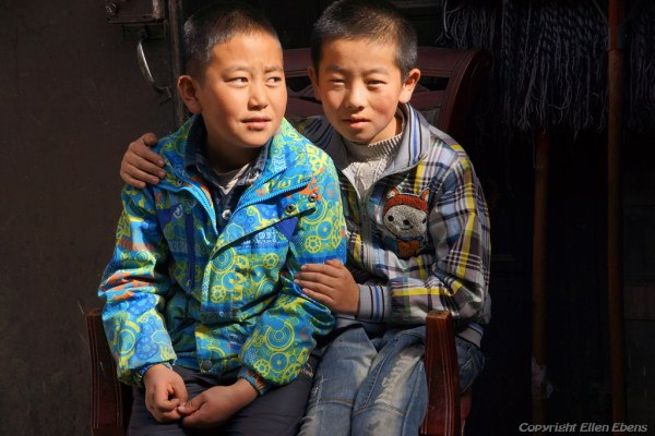 Boys at Songpan Ancient Town