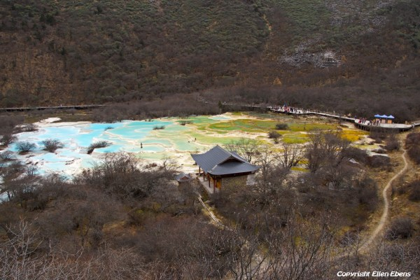 Huanglong National Park: Multi Coloured Pond