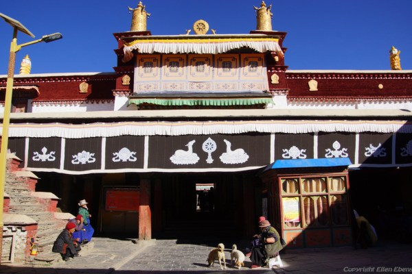 Thandruk Monastery near the city of Tsedang