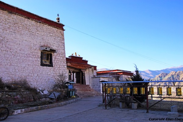 Kamadang Temple near Tsedang in the Yarlung Tsangpo valley