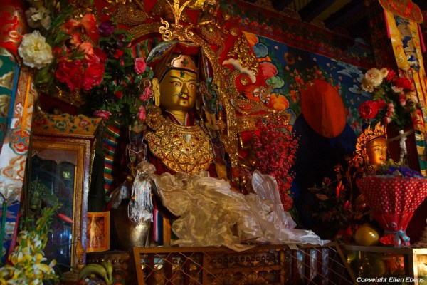 Inside the assembly hall of Chimpuk Hermitage