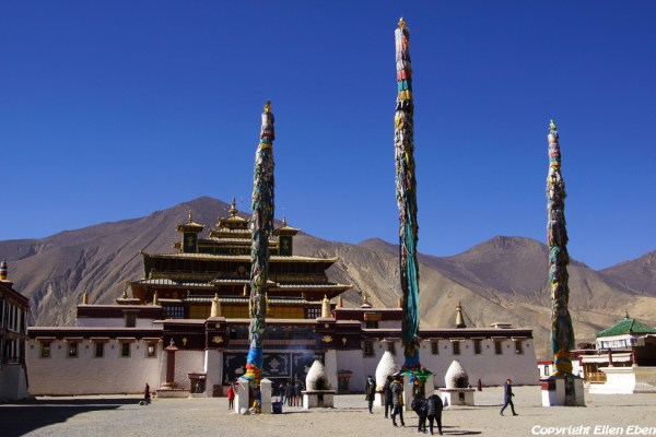 Samye Monastery in the Yarlung Tsangpo Valley