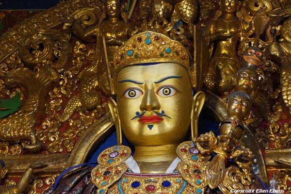 Inside Dorje Drak Monastery
