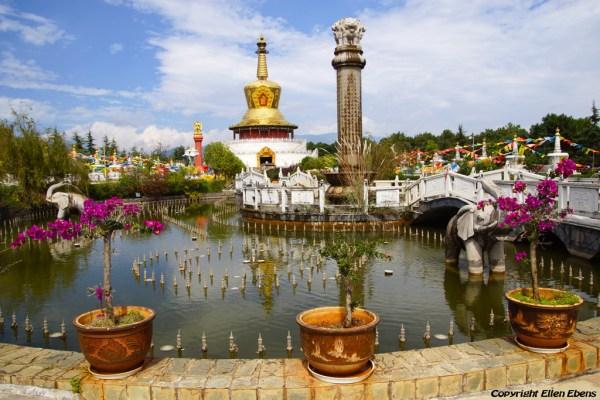 The Golden Pagoda at Lijiang