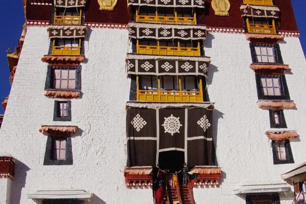 Me at the Potala Palace, Lhasa