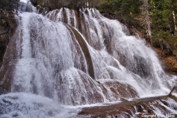 Zhaga Waterfall at Mounigou Valley, Songpan County