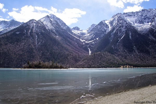 Ranwu lake in eastern Tibet