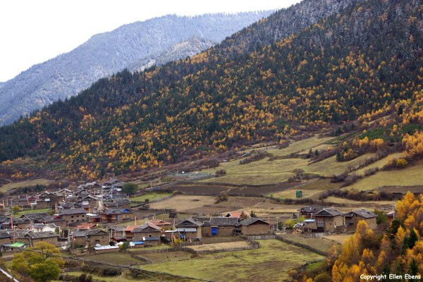 Tibetan village Songpan