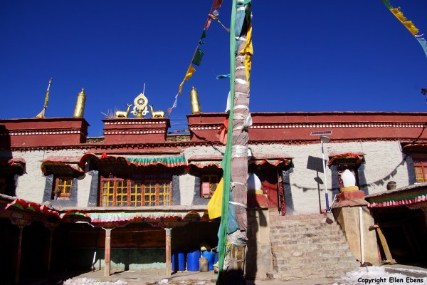 The old part of Ralung Monastery