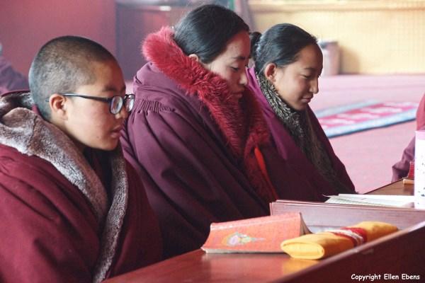 Nangchen nuns nunnery