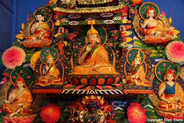 Xiahe Labrang Monastery butter sculptures