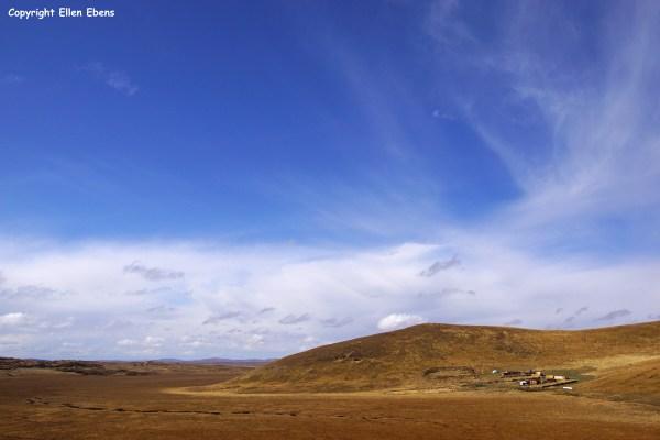 Langmusi Zoige landscape