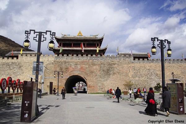 Songpan gate