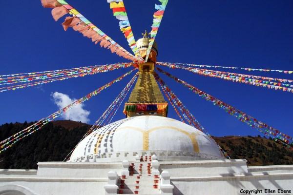 Dzochen Monastery stupa