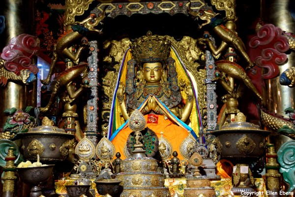 Thugchen Monastery Avalokitesvara