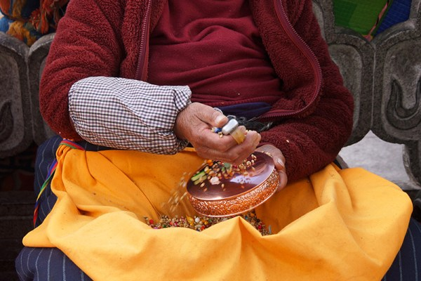 Jokhang Temple pilgrim