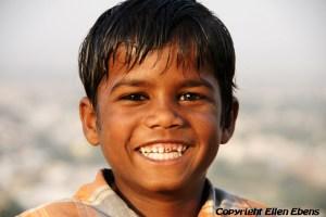 Young boy at Gwalior